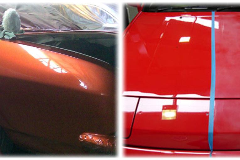 Полная покраска автомобиля — Цены
