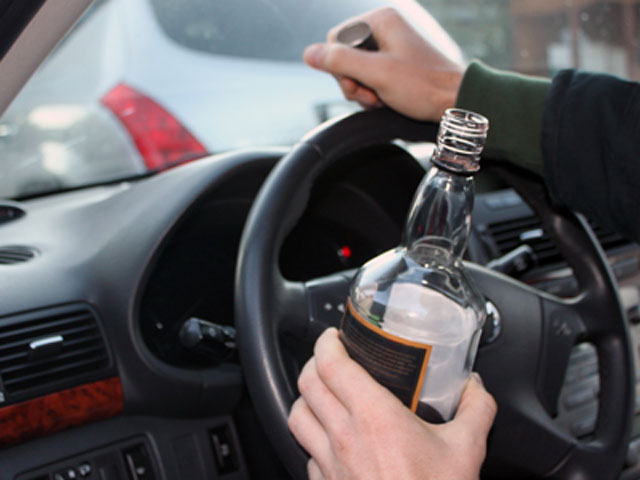 Вождение в состоянии  опьянения