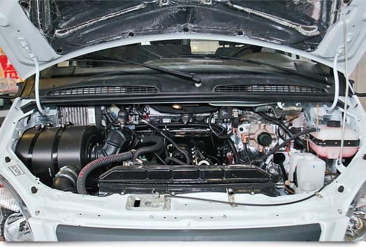Двигатель автомобиля Валдай