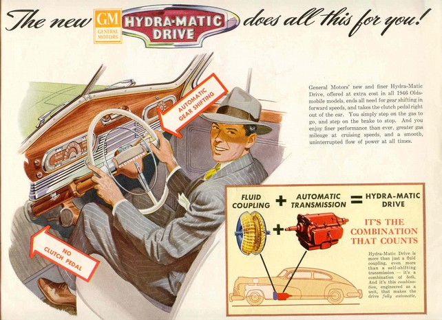 HydraMatic на автомобиле Oldsmobile