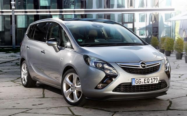 Пекрасный минивен Opel Zafira
