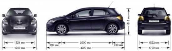 Тойота Аурис 2015 года