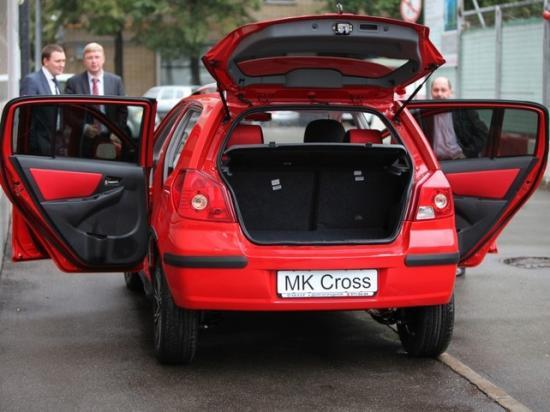 Функциональность Geely MK Cross