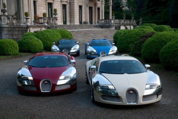 Каждый  Bugatti Veyron уникален