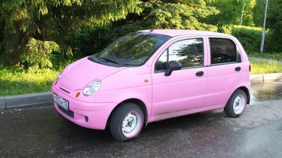 Настоящий женский автомобиль