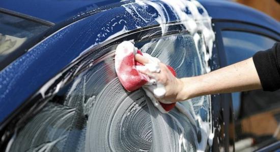 Очистка поверхности авто