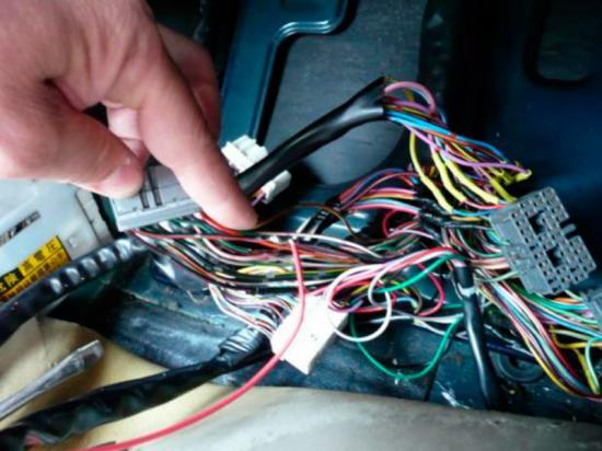 Отключение электрической проводки