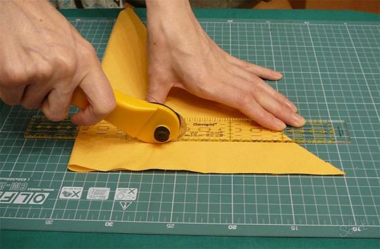 Раскройка новых элементов обшивки