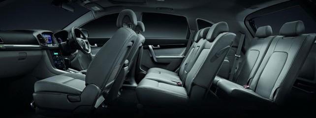 Салон нового Chevrolet Captiva