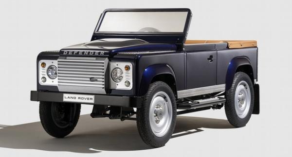 Педальный Land Rover