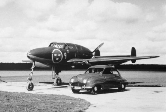 СААБ начал свою деятельность с авиации