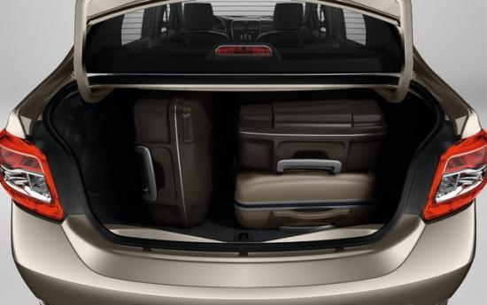 Объем багажника -  510 литров