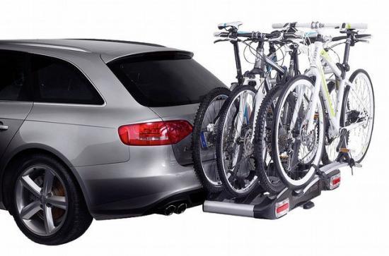 Позволяют перевезти сразу до четырех велосипедов