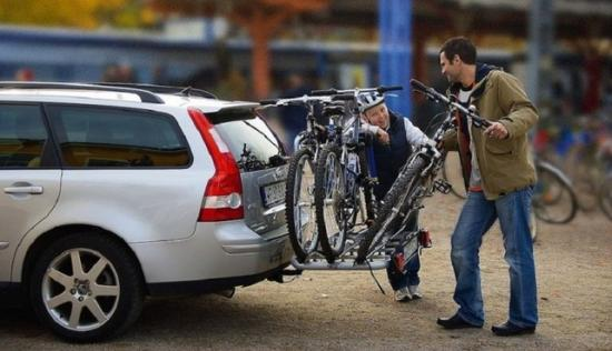 Система для перевозки велосипеда