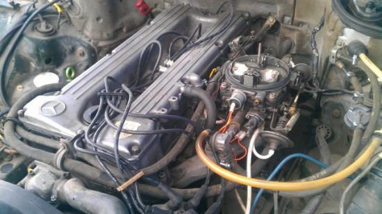 3,8-литровый двигатель