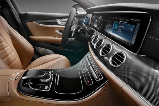 Интерьер Mercedes E-Class W213
