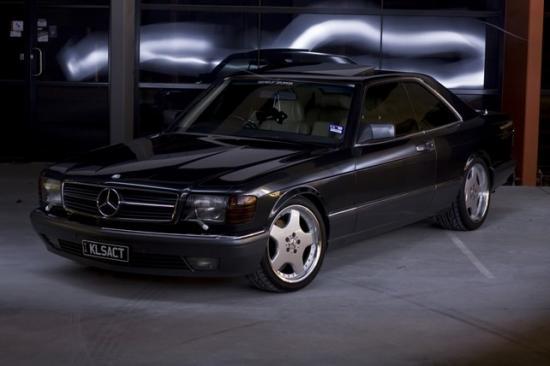 Купе 560SEС от AMG