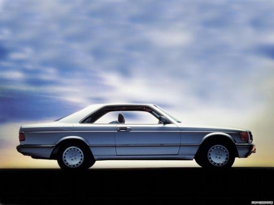 Купе на базе Mercedes-Benz S-класс W126