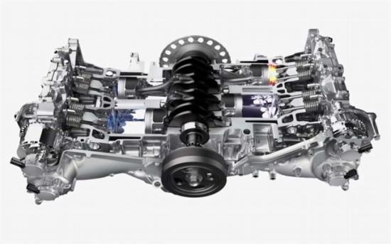 Наддувный двигатель 2,5ХТ