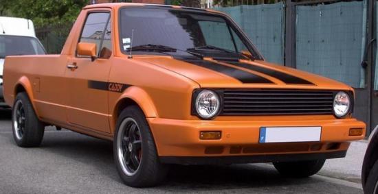 Первое поколение Volkswagen Caddy