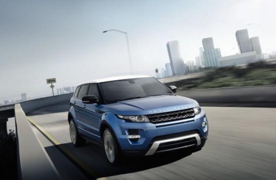 Первый серийный Range Rover Evoque купили в 2011