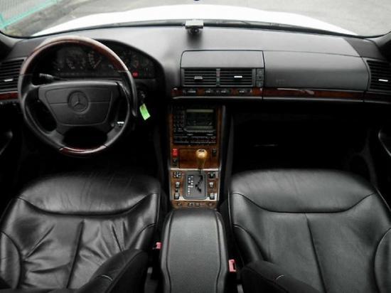Почти на всех Mercedes-Benz S-Class W140 установлена гидромеханическая автоматическая коробка