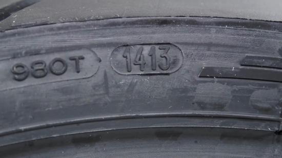 3. Дата выпуска для покрышек старше 2000 года обведена овалом