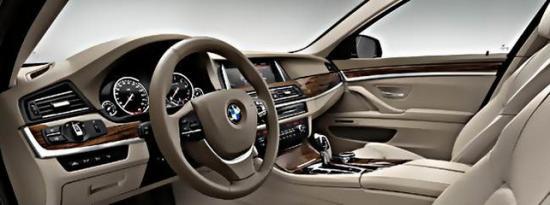 Интерьер новой BMW 5 Series