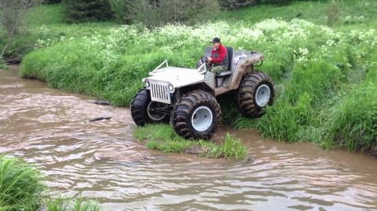 Передвигаться по воде и по болотистой местности
