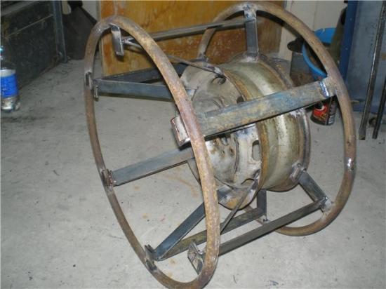 После этого колесо собирается