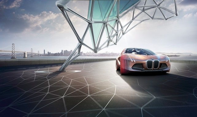 Революционный концепт-кар Vision Next 100