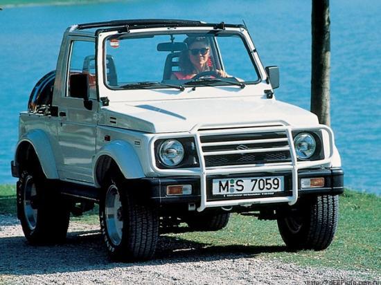 Suzuki Jimny третьего поколения