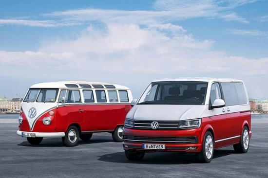 Volkswagen Multivan Т6 и Volkswagen Т1