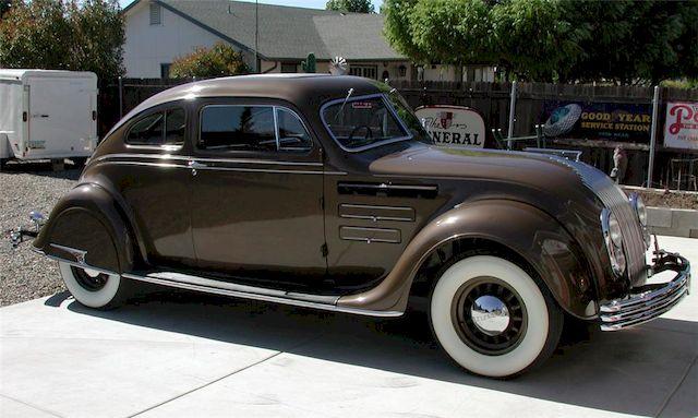 Крайслер Эйрфлоу, именно этот автомобиль послужил источником вдохновения для создания первой Тойота