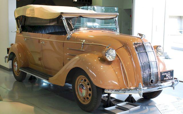 Тойота модели АВ, фаэтон