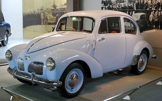 Первая послевоенная Toyota SA
