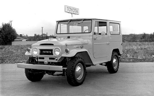 Toyota Ленд Круизер, 1969 год