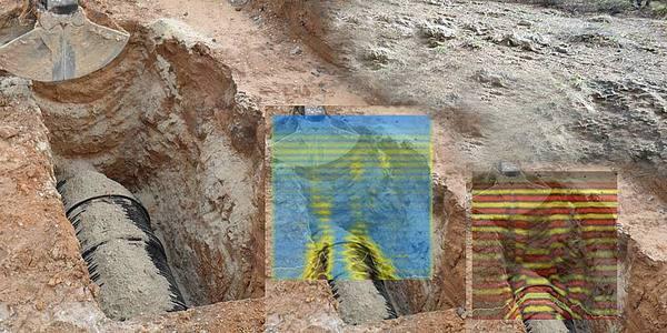 Сканирование георадаром