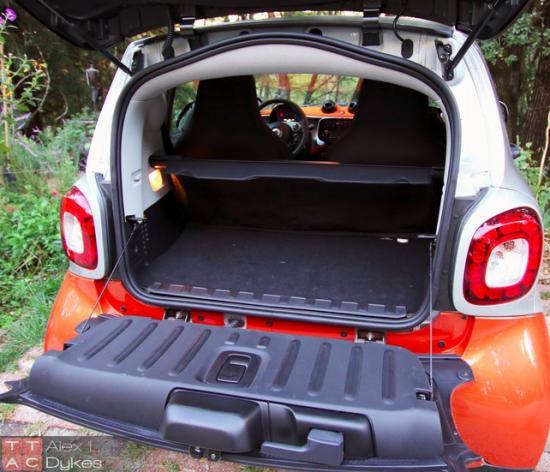Багажник на 260 литров