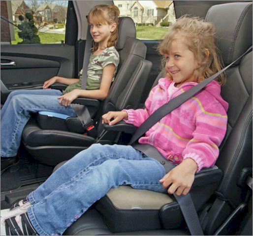 Бустеры всегда можно подобрать даже для тех детей, которым не подходят автомобильные кресла