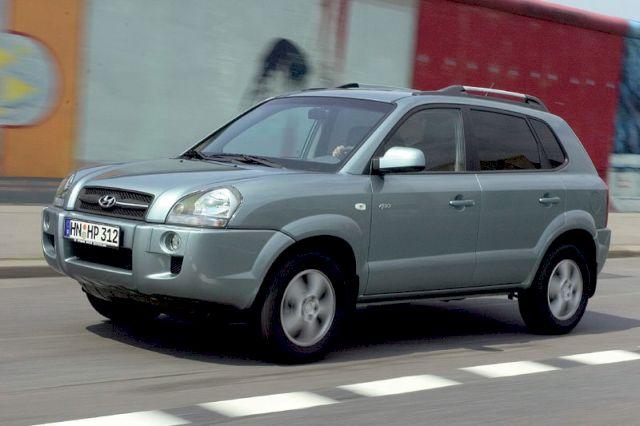 Hyundai Tucson 2.7i V6, 2006 год