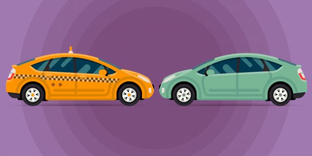 И такси и личный автомобиль должны работать рентабельно