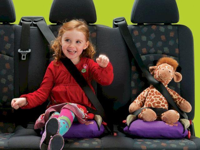 Правильная перевозка детей