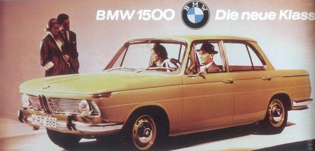 БМВ 1500, стиль баварцам подарили итальянцы