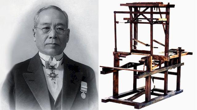 Сакичи Тойода и его первый ткацкий станок