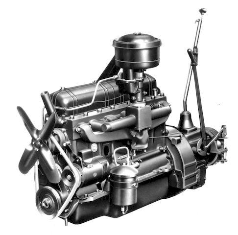 Двигатель и КПП модели А1