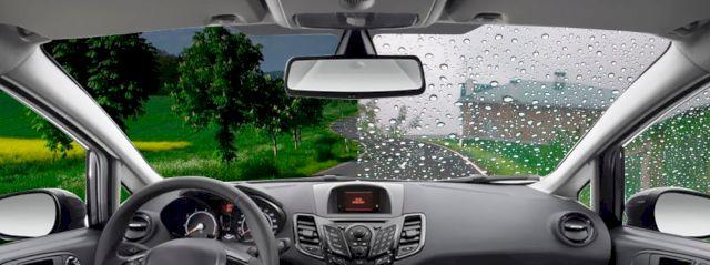 Гидрофобное покрытие антидождь (антилёд) рекомендуется наносить на стёкла и оптику