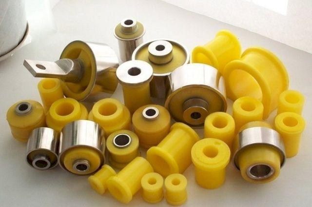 Специальная обработка позволяет достигнуть прочного соединения полиуретана с металлом