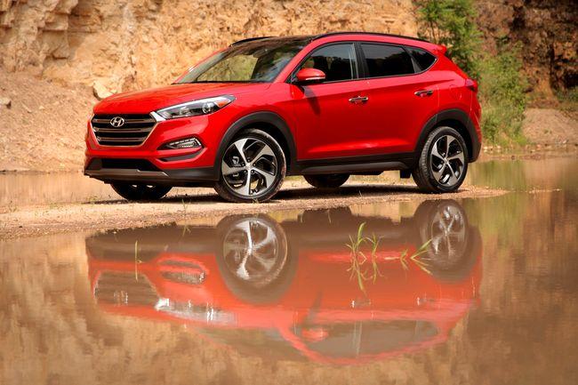 2016 Hyundai Tucson на 19 дисках