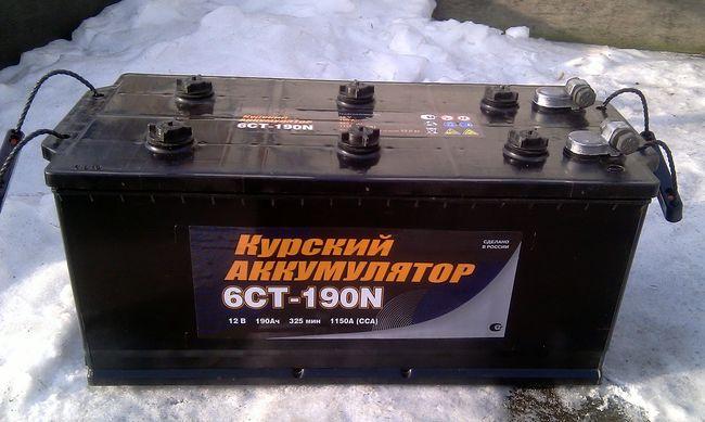 Беспощадный Аккумулятор 6СТ-190